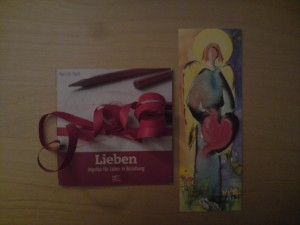 Ein Geschenk von Andrea: Impulsheft Lieben von Kerstin Hack