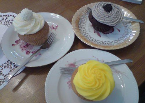 American Cupcakes, in einem Berliner Cupcake Laden