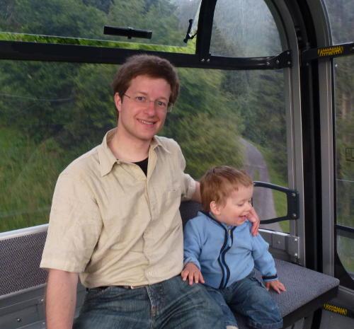 In der Bergbahn