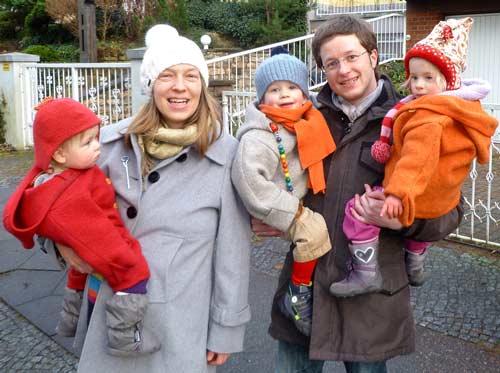 Familienbild im Frühjahr 2014