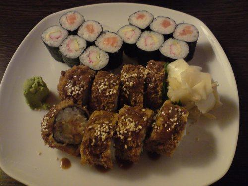 Fritierte Sushi