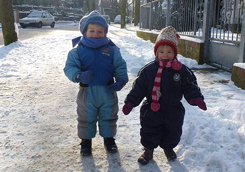 Hannah und Lukas - Februar2014