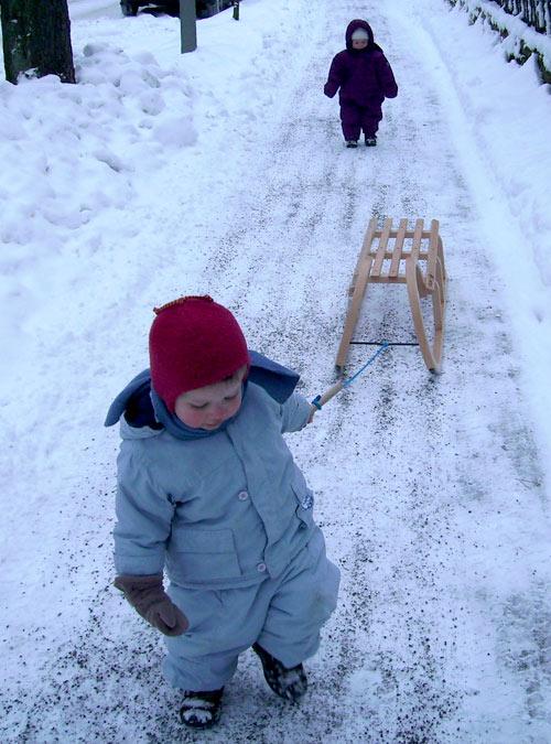 Hannah und Lukas, Berliner Winter 2012