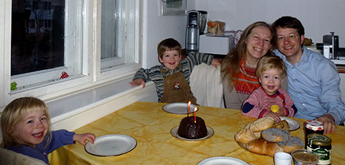 Johannes 2. Geburtstag