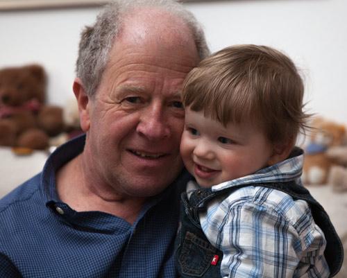Lukas und Opa