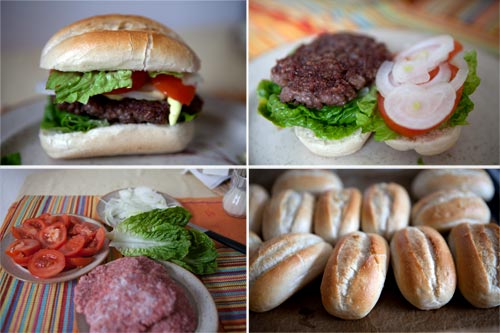 Making of Selfmade Burger
