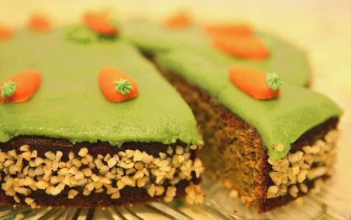 Neujahrskuchen: Rübli-Torte