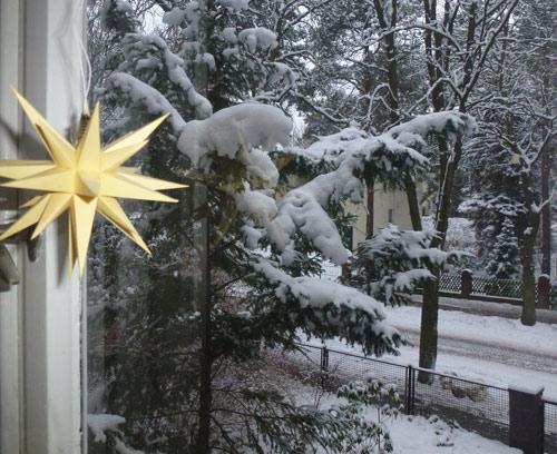 Schnee nach Weihnachten '14
