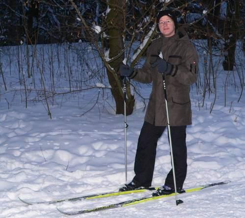 Skifahren an Neujahr in Berlin