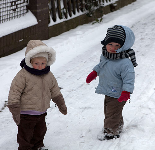 Erneuter Wintereinbruch 2013