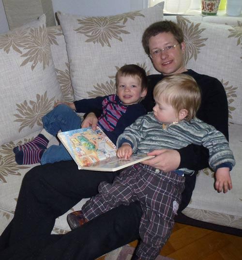 Zwei Brüder und ein Buch